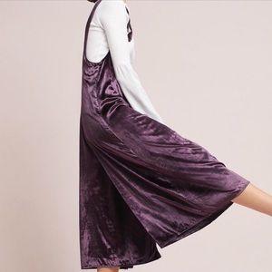 ANTHRO MAEVE | cropped velvet jumper